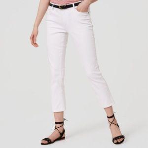 ⚡️⚡️⚡️Ann Taylor Curvy Kick Crop Jeans